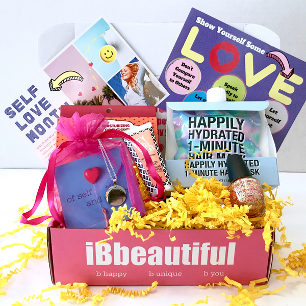 IBbeautiful monthly subscription box for girls ages 6 - 15