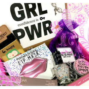 ibbeautiful monthly subscription box for girls ages 12, 13, 14, 15.  Best gift for girls