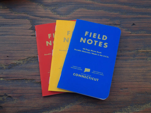 Field Notes County Fair Edition - Connecticut