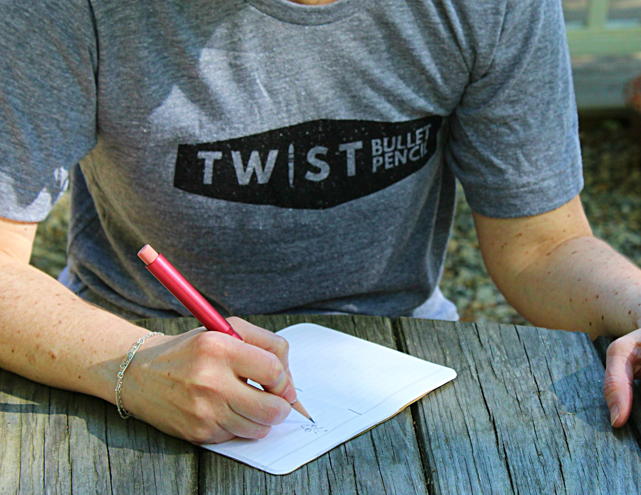 Twist Bullet Pencil T-Shirt