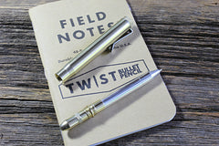 Raw Brass Bullet Pen•cil