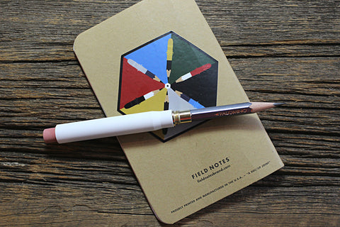 Twist Bullet Pencil - The White Edition
