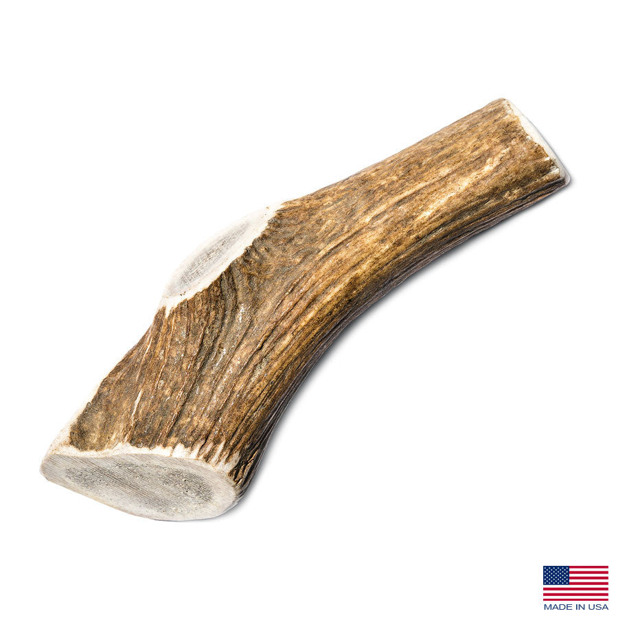Giant (XXL) Elk Antler Dog Chew - 7-10 Inches