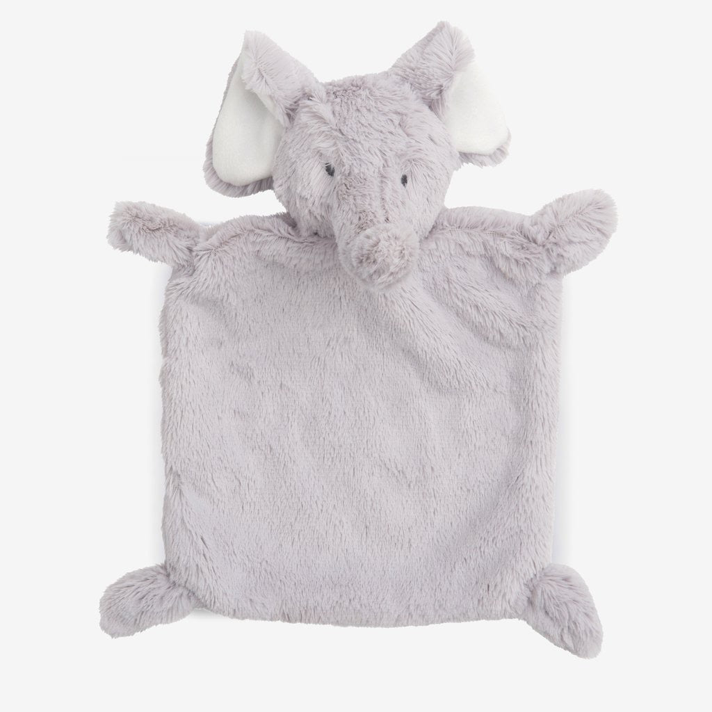 Elegant Baby | Elephant Flat Soother Blankie