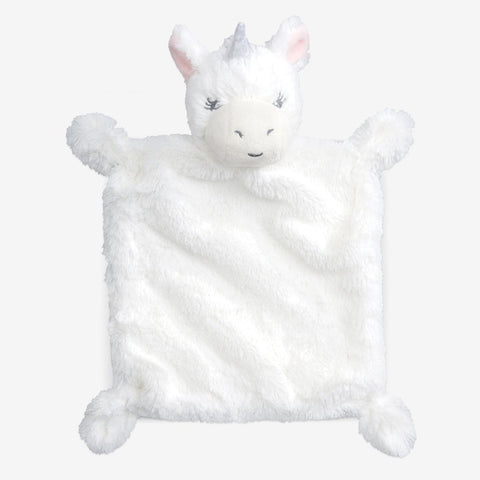Elegant Baby | Unicorn Flat Soother Blankie