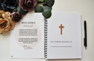 Mass Journal - Wire-O Notebook