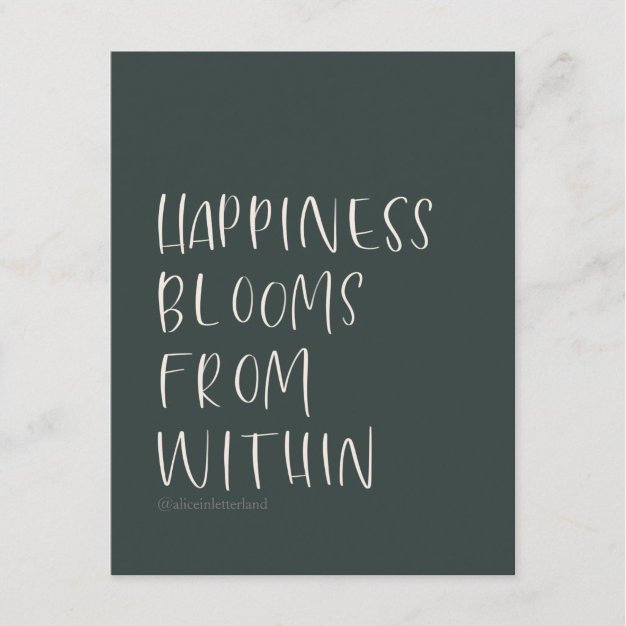 Mini Happiness Blooms Print