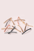 The Hair Edit multicolored modern bobby pin assortment