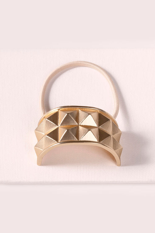 THE-Hair-Accessories-Ponytail-Pyramid-Cuff-soft-gold
