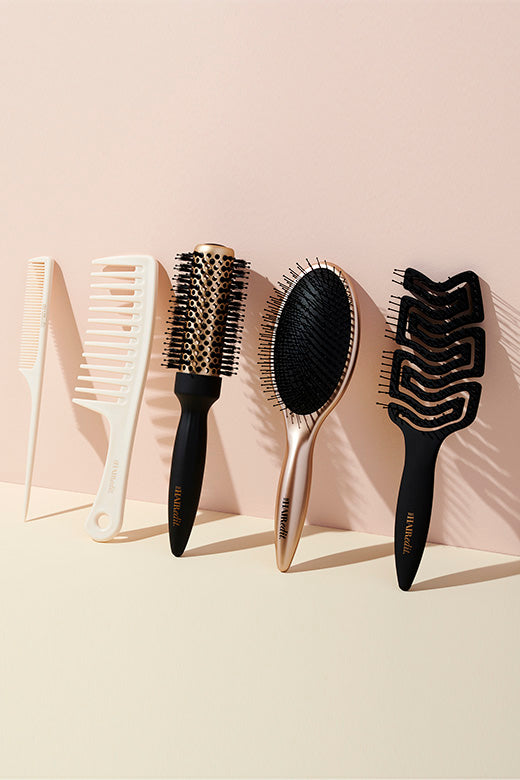 The Hair Edit Brushes & Combs Lineup