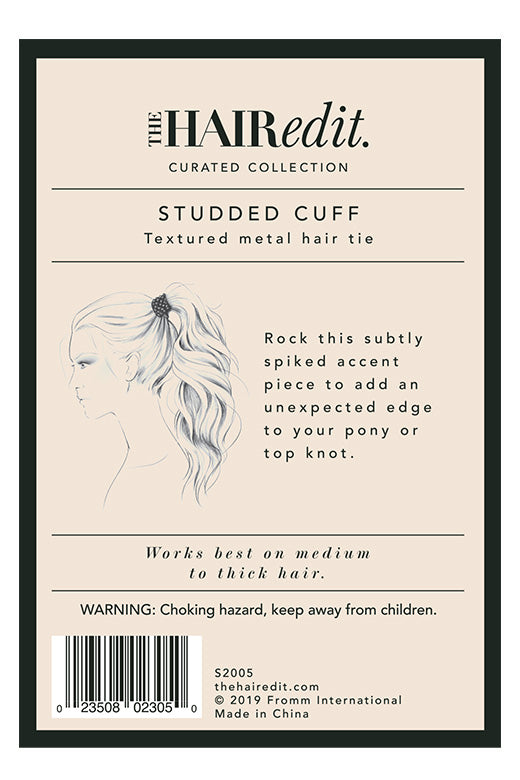 TheHairEdit_S2005_Black_Studded_HairCuff_BackPackaging