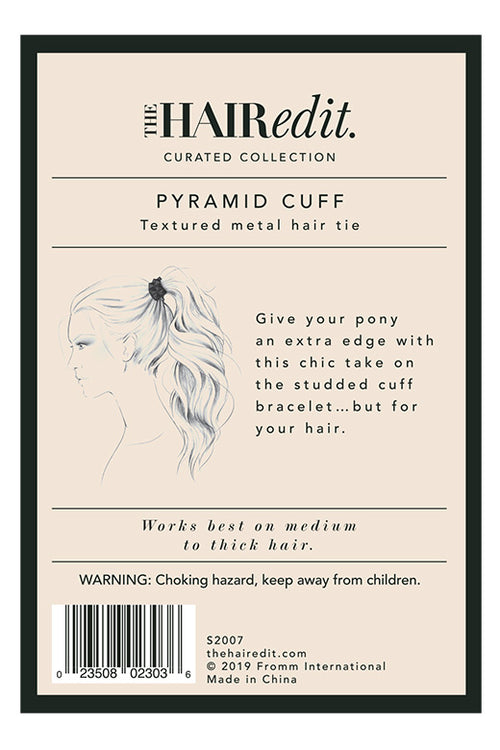 TheHairEdit_S2007_Black_Pyramid_HairCuff_BackPackaging