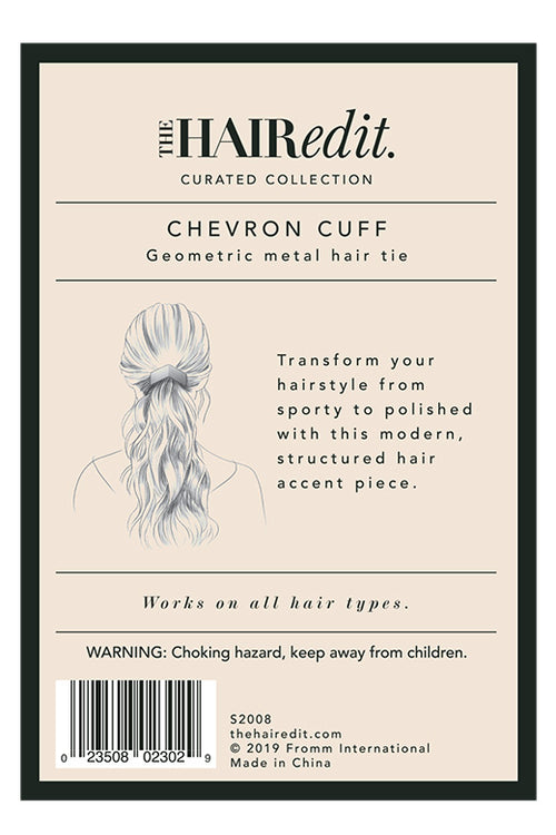 TheHairEdit_S2008_Gold_Chevron_HairCuff_BackPackaging
