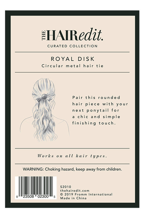 TheHairEdit_S2010_Gold_Circular_Metal_HairTie_BackPackaging