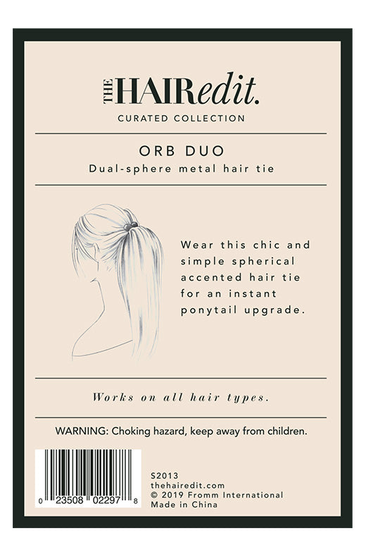 TheHairEdit_S2013_Black_TwinBead_HairTie_BackPackaging