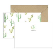 Load image into Gallery viewer, Cactus Thank You Cards (Set of 8)