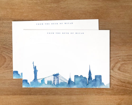 Cityscape Stationery
