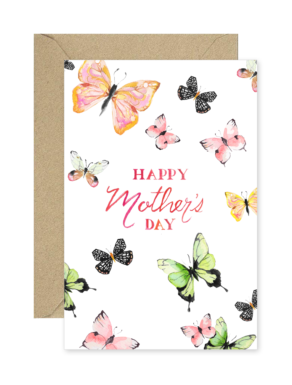 Mother's Day Butterfly Card
