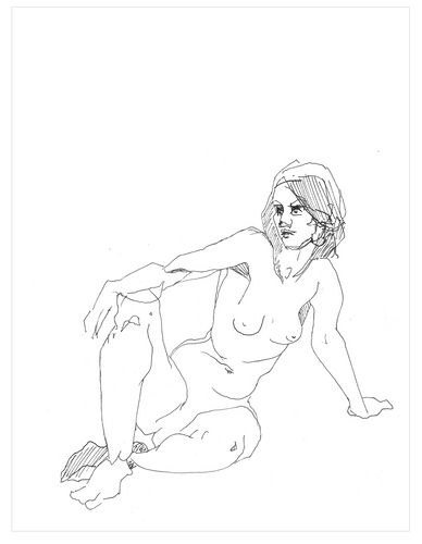 Nude #4 (Limited Edition Print of 25)