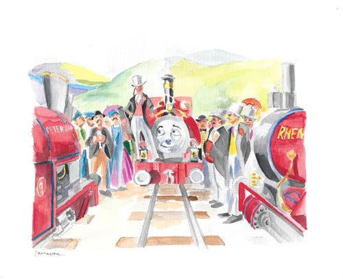 Thomas the Tank Engine Print