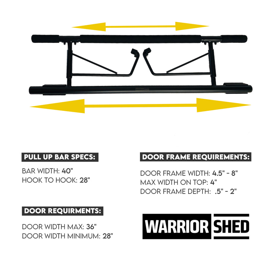 Warrior Shed™ Performance Pack