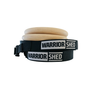 Warrior Shed™ Pro Gym Rings