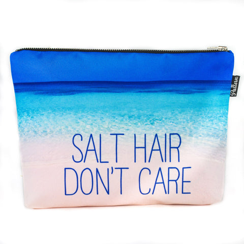 Salt Hair Don't Care Scene Pouch