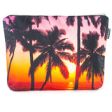 Sunset Palm Scene Pouch