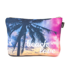 Beach Love Scene Pouch