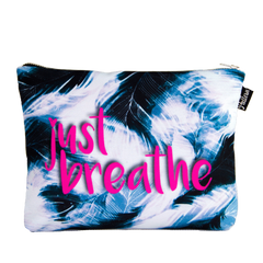 Just Breathe Scene Pouch