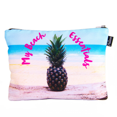 My Beach Essentials Scene Pouch