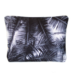 NEW - Large Scene Pouch - Black Palms