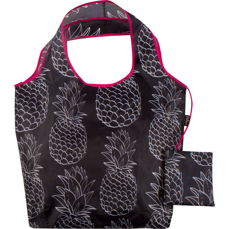 Pineapples Reusable Folding Bag