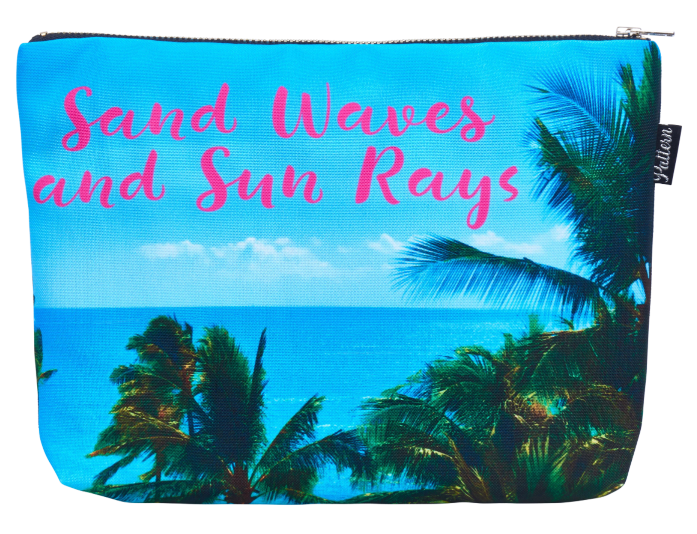 Sand Waves and Sun Rays Scene Pouch