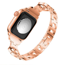 Load image into Gallery viewer, Diamond Double Circle 8 Bracelet For Apple Watch - Elegance & Splendour