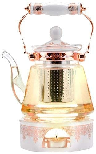Buckingham Palace Teapot & Flowering Tea Gift - Elegance & Splendour