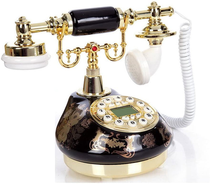Old Fashion Antique Landline Telephone - Elegance & Splendour