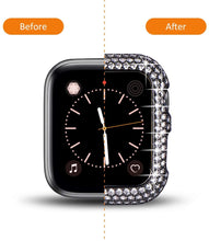 Load image into Gallery viewer, Luxury Bling Diamond Bumper Protective Case Compatible With Apple Watch - Elegance & Splendour