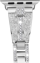 Load image into Gallery viewer, Dazzled Diamonds Elegant Band Compatible With Apple Watch - Elegance & Splendour