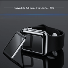 Load image into Gallery viewer, A Pair Of Full Coverage 3D Tempered Glass For Apple Watch - Screen Protection For Series  1, 2 & 3 - Elegance & Splendour