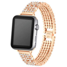 Load image into Gallery viewer, Crystal Premium Bling Diamond Band Compatible With Apple Watch - Elegance & Splendour