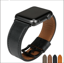 Load image into Gallery viewer, Quality Leather Watch Strap Replacement For Apple Watch