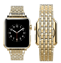 Load image into Gallery viewer, Indulgence Series Pure Luxury Diamond Bands For Apple Watch