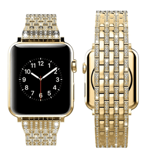 Indulgence Series Pure Luxury Diamond Band Compatible With Apple Watch - Elegance & Splendour