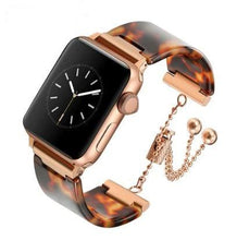 Load image into Gallery viewer, Premium Resin Jewelry Clasp For Apple Watch - Elegance & Splendour