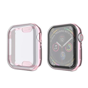 Soft Clear Protector Cover Case For Apple Watch Series 5 4 3 2 1 - Elegance & Splendour