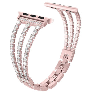 Charlotte Bling Band Compatible With Apple Watch - Elegance & Splendour