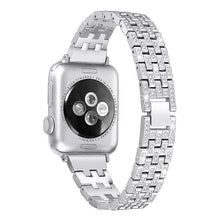 Load image into Gallery viewer, Indulgence Diamond Band Compatible With Apple Watch - Elegance & Splendour