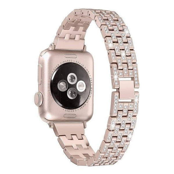 Indulgence Diamond Apple Watch Band - Elegance & Splendour