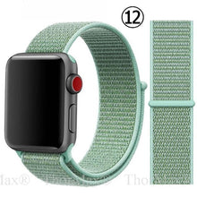Load image into Gallery viewer, Soft Lightweight Breathable Nylon Sport WatchBand for Apple Watch - Elegance & Splendour